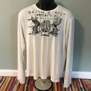 Guess Long Sleeve Shirt South Street Graphic Tee